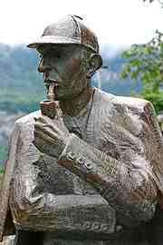 Sherlock Holmes asesino a Sir Arthur Conan Doyle